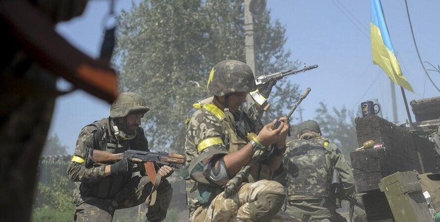 Бойцы АТО / Фото: Reuters