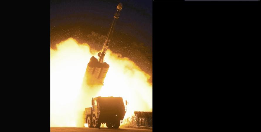 запуск, крылатая ракета, корея, кндр, фото