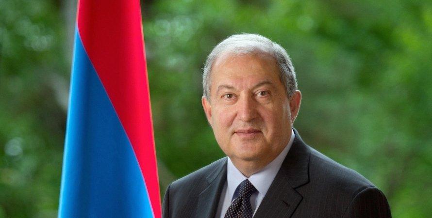 Армен Саркисян, Армения, президент