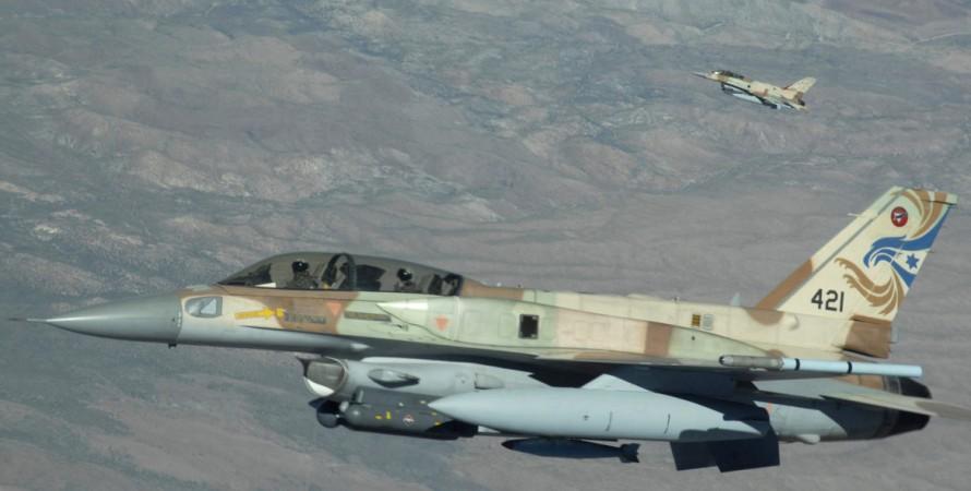 Истребитель, F-16, Израиль, фото