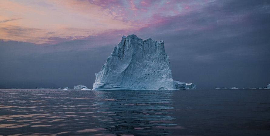 Гренландия, ледники, растения