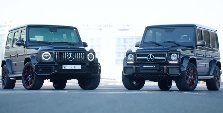 Старый Mercedes-AMG G 65 и новый Mercedes-AMG G 63 выявили сильнейшего.