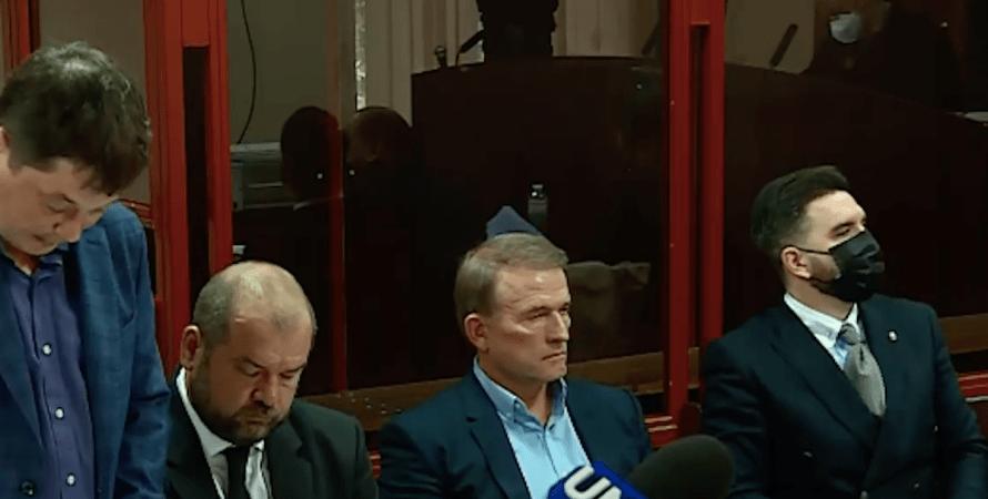 Виктор Медведчук, избрание меры пресечения, Печерский суд Киева, дело о госизмене