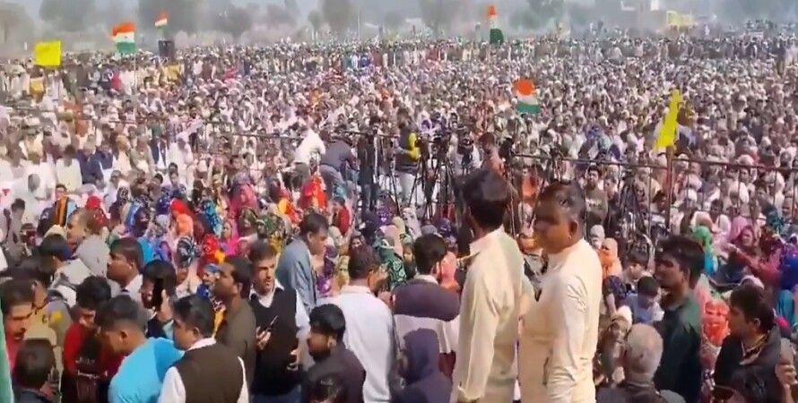 Протесты в Индии, индия, протесты, фермеры, митинг
