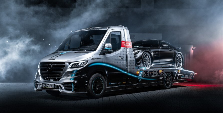 Эвакуатор Kegger Sprinter Petronas Edition, Kegger Mercedes, Kegger Mercedes Sprinter