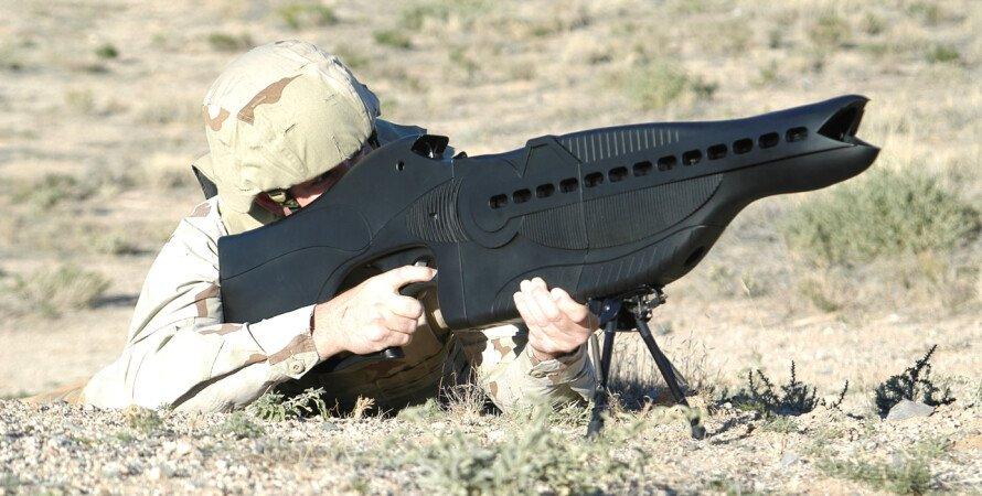 PHASR, лазер, гвинтівка, пустеля, солдат