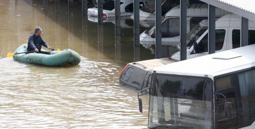 Наводнение в Тбилиси / Фото: @quanza_bot