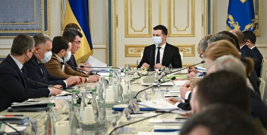 Заседание СНБО, санкции, компании, недра, недродобывающие компании