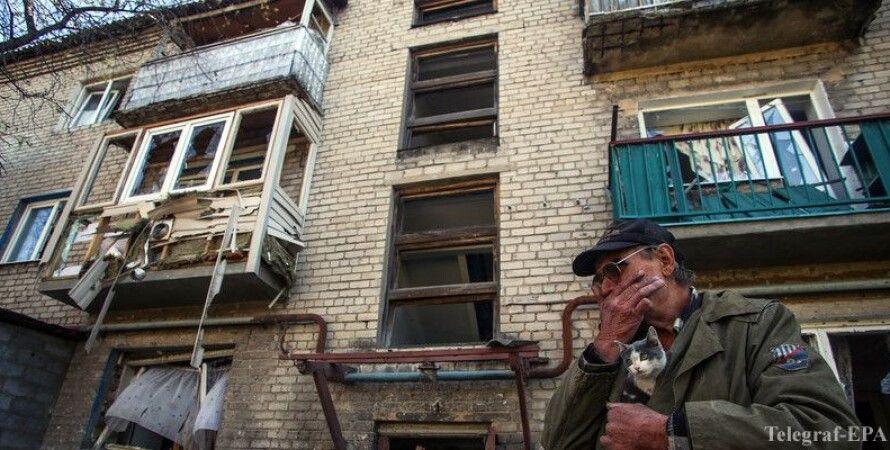 После обстрела в Углегорске / Фото: Telegraf-EPA