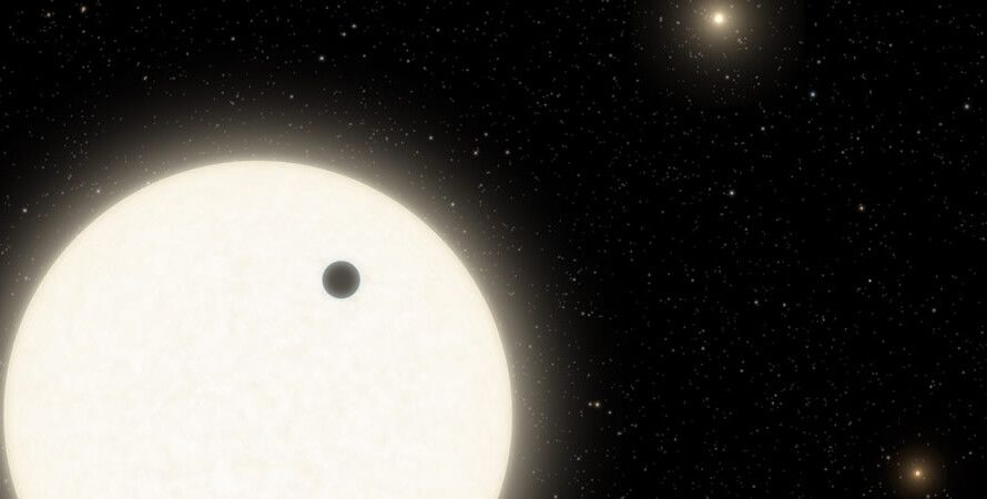 космос, экзопланета, звезды