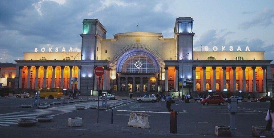 Железнодорожный вокзал Днепр / Фото: Днепр Час