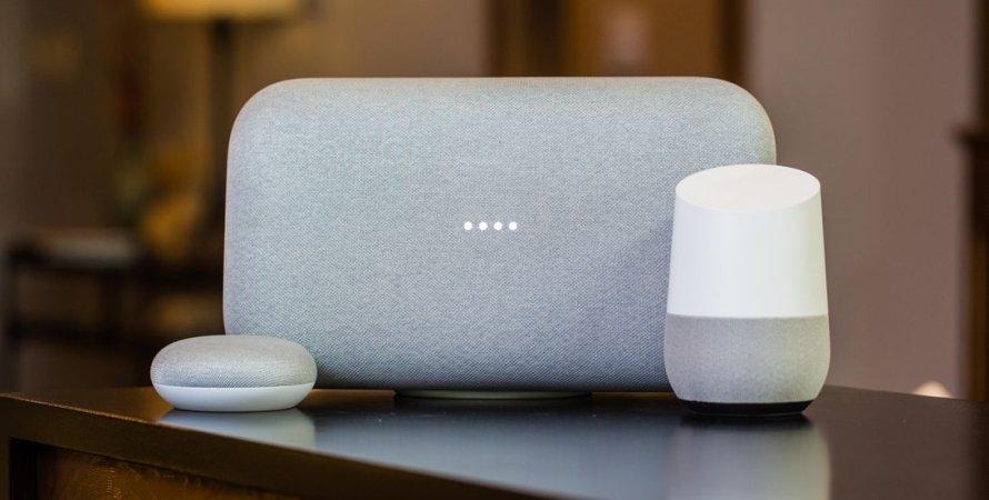 Google, смарт-колонки, голосовой ассистент