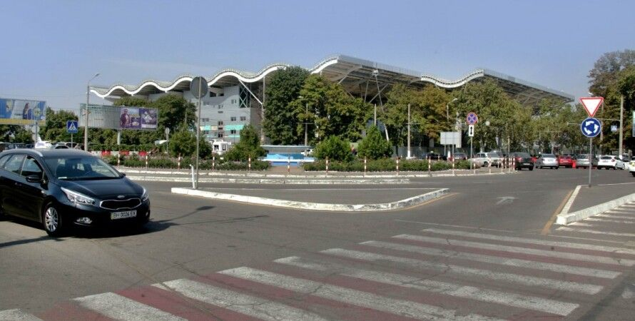 Строящийся новый терминал Одесского аэропорта / Фото из открытого источника