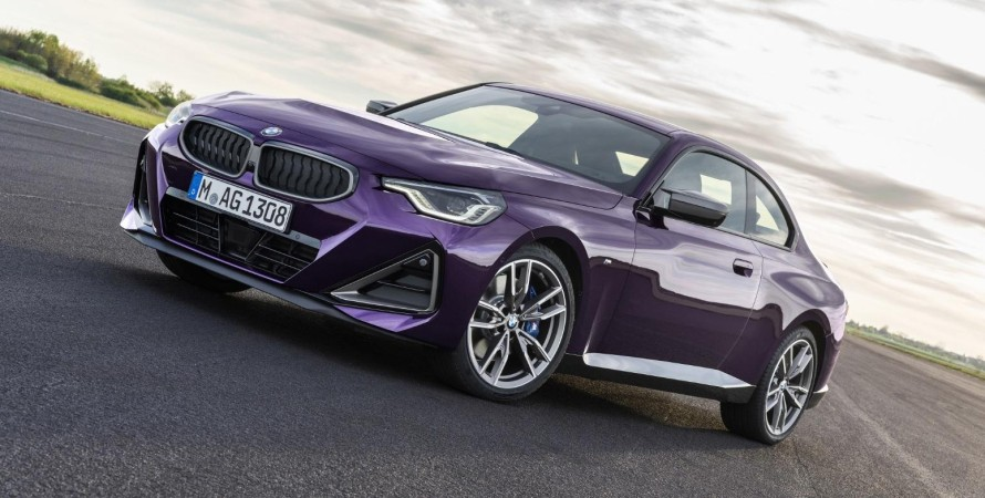 представлено купе BMW 2-Series