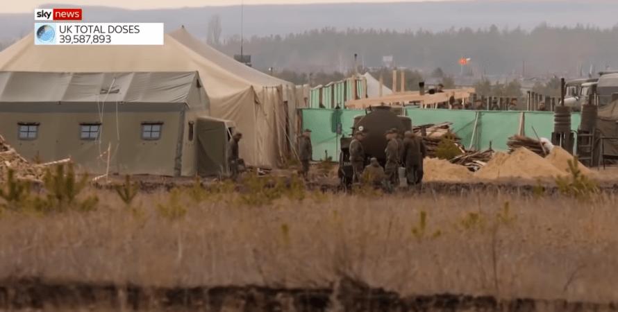 стягивание техники вс рф, войска под границей с украиной