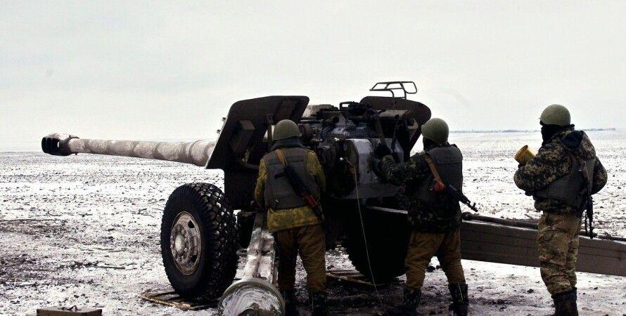 Украинские артиллеристы / Фото: ИАЦ СНБО