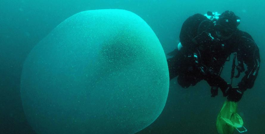 вода, дайвер, фото, желеобразный пузырь