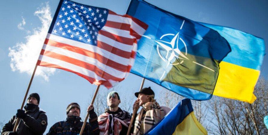 НАТО, Украина, белый дом, сша, оговорка, пресс-секретарь, поддержка вступления украины в нато