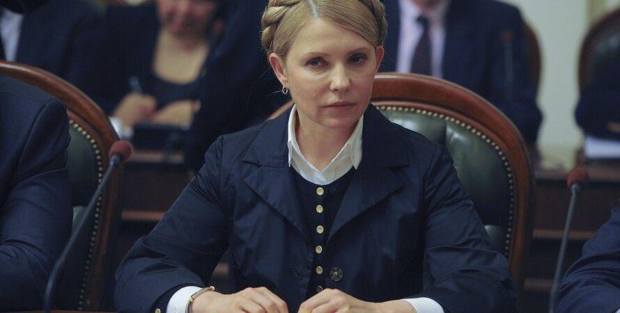 Юлия тимошенко на заседании Кабмина / Фото: kmu.gov.ua