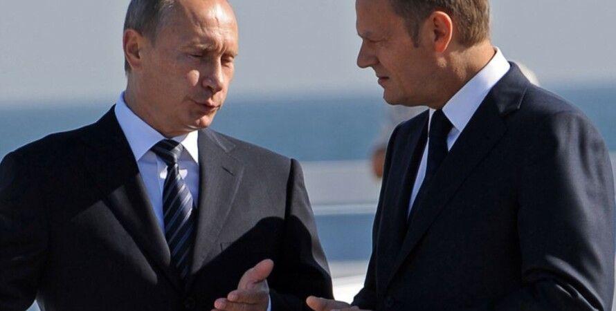 Владимир Путин и Дональд Туск / Фото: rferl.org