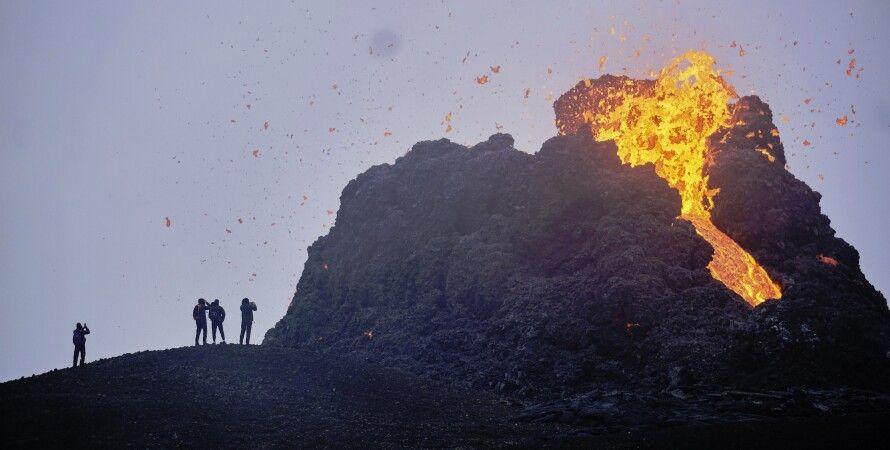 вулкан Фаградальсф'ядль, виверження