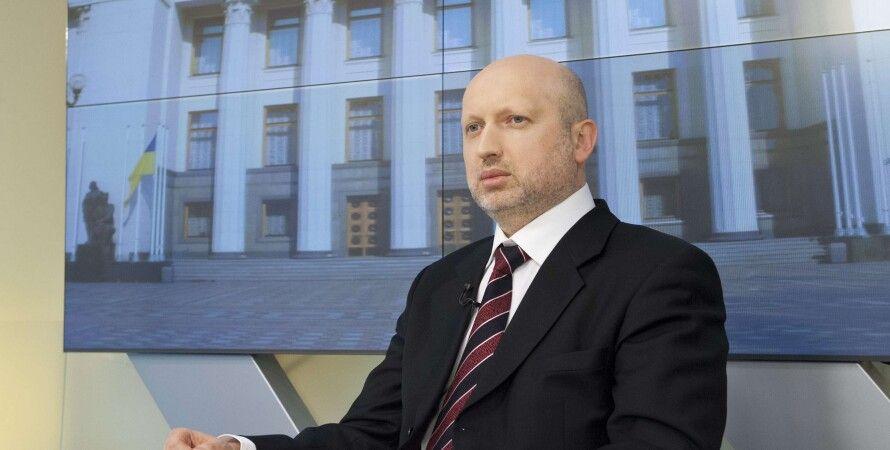 Александр Турчинов / Фото пресс-службы парламента
