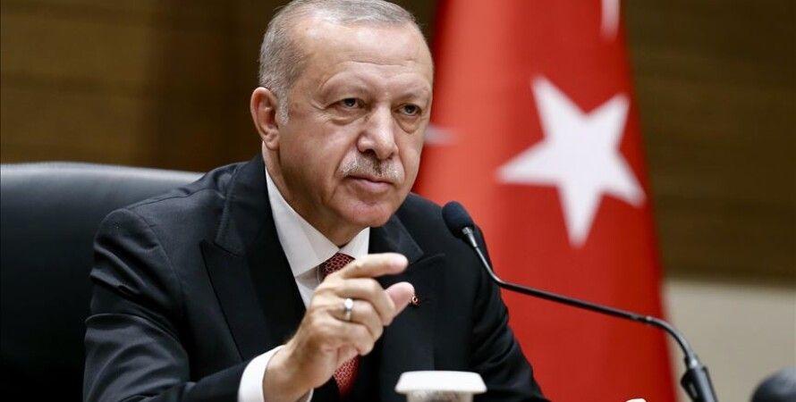 Реджеп Эрдоган. Фото: Anadolu Agency