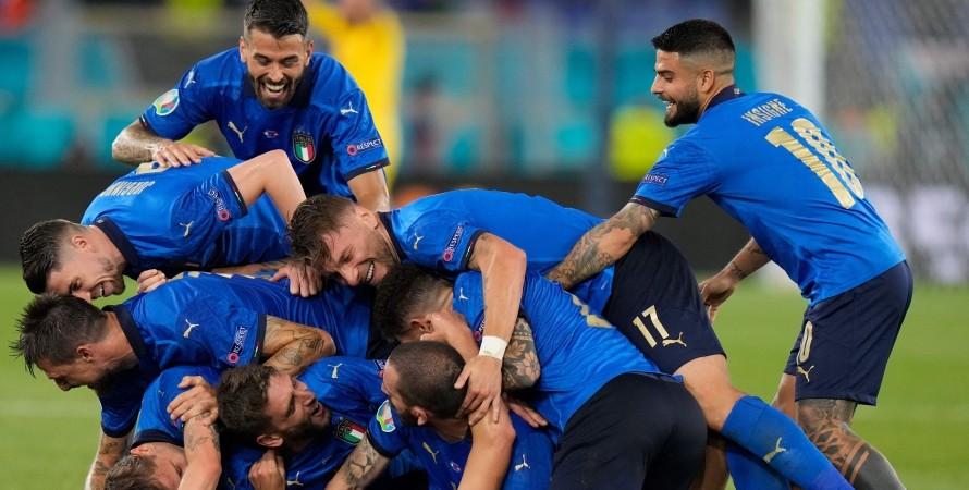 Сборная Италии, футбол, Евро-2020