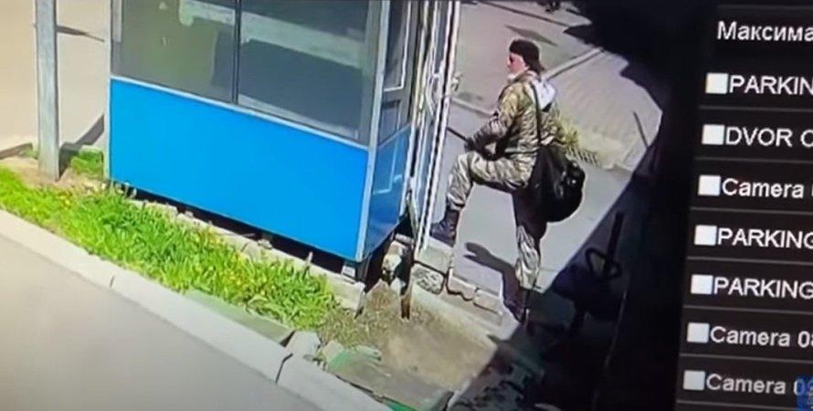стрельба, Алматы, охранник, ранение