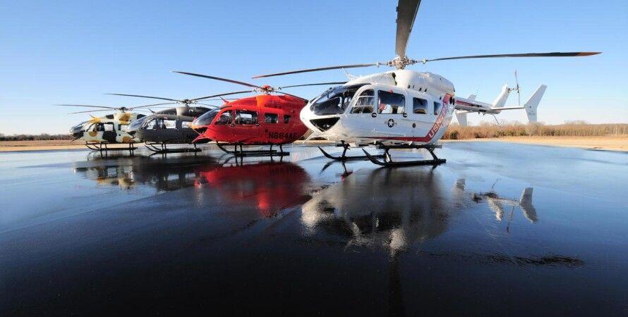 Вертолеты Airbus / Фото из открытых источников