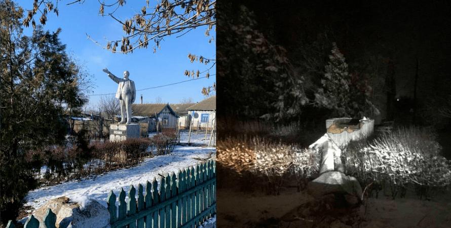 знесли пам'ятник Леніну, Одеса, одеська область, декомунізація, останній пам'ятник Леніну