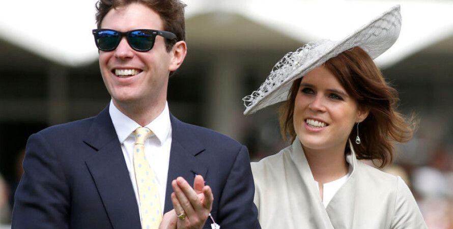 Евгения Йоркская вместе с мужем Джеком Бруксбэнком/Фото: Istagram/принцесса Йоркская