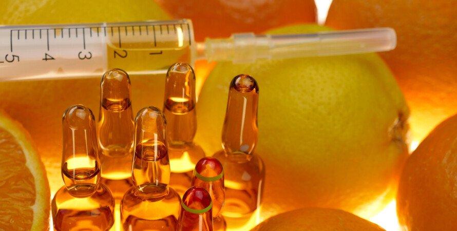 витамин С, витамин, простуда, лечение, польза