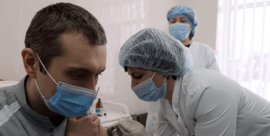 вакцинация, феофания, вакцина от covid-19, киев, блогеры, врач, пациент, коронавирус