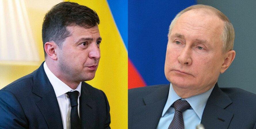 Зеленский, Путин, Донбасс, переговоры,