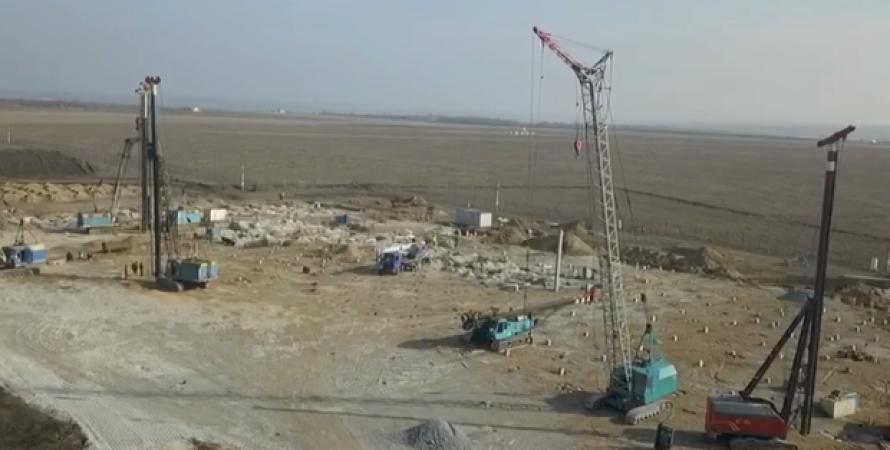 днепр, аэродром, строительство, мининфраструктуры