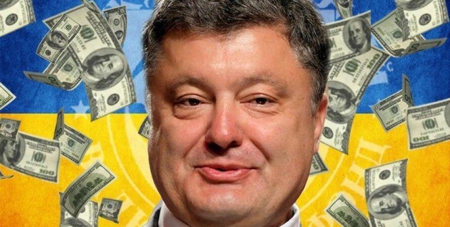 Петр Порошенко, декларация, деньги, наличные