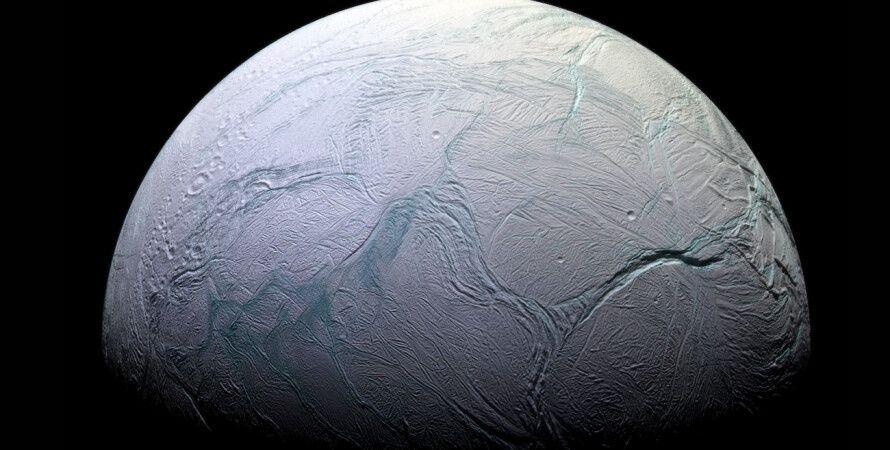 Енцелад, організми, вода