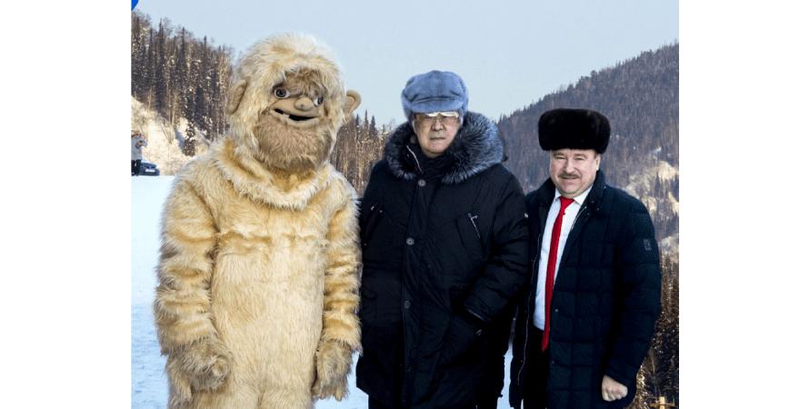 Тулєєв, снігова людина, туризм, кемерово, фото