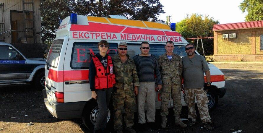 Пожар в киевском хосписе / Фото: пресс-служба ГСЧС