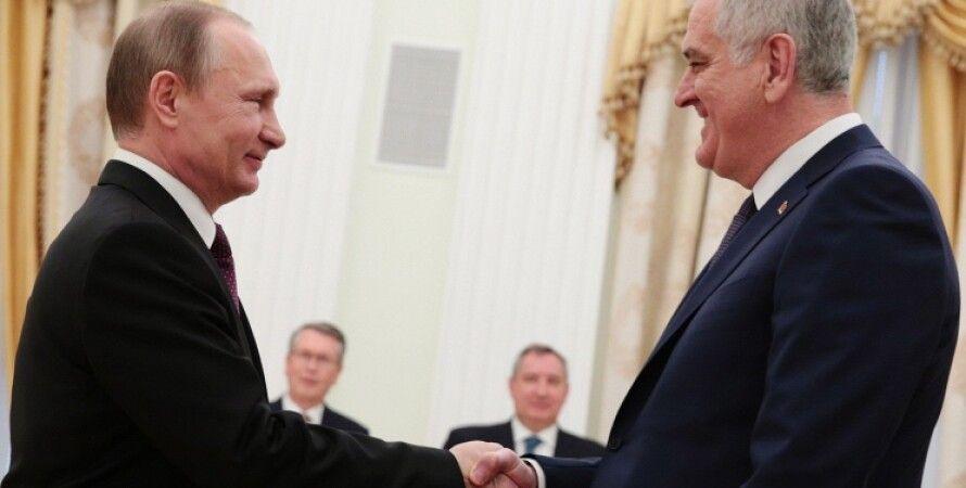 Президент России Владимир Путин и президент Сербии Томислав Николич / Фото: Михаил Метцель/ТАСС