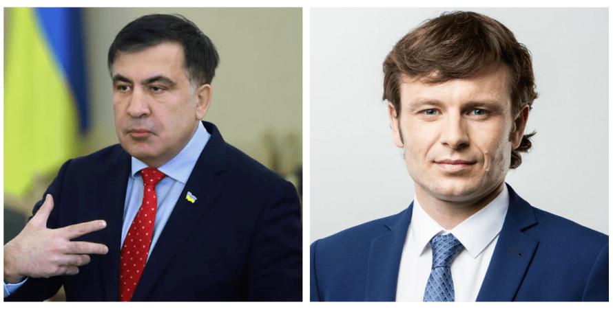 Михеил Саакашвили, Сергей Марченко, конфликт, козявка и ничтожество, шулер с большой дороги