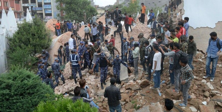 Последствия землетрясения в Непале / Фото: Getty Images
