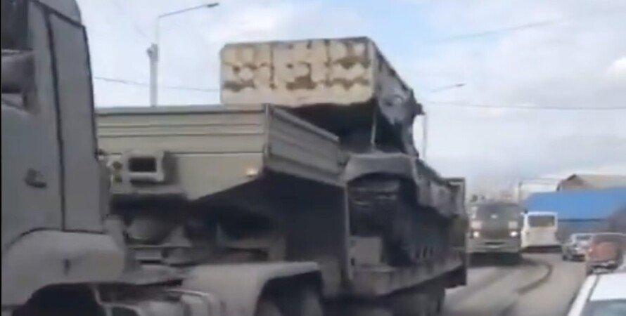 стягивание войск россией