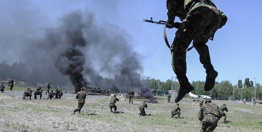 Учения сил АТО / Фото: kmu.gov.ua