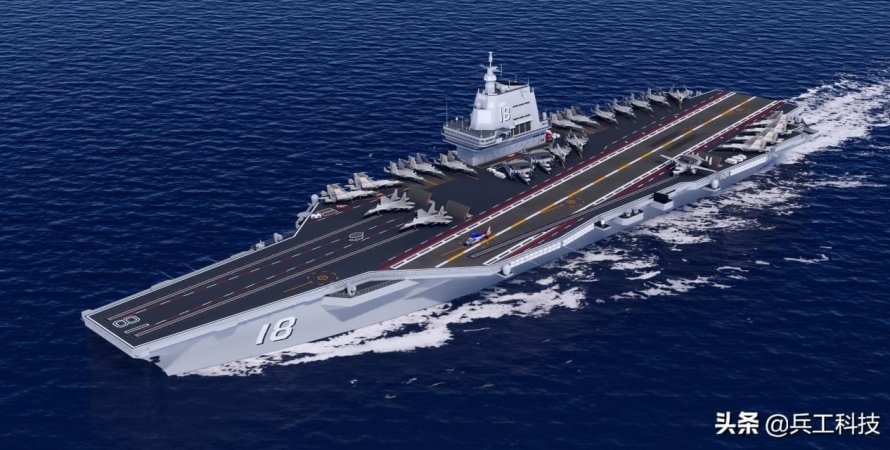 "китайский авианосец ""Type 003"""