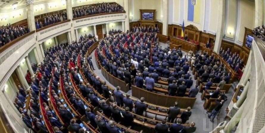 Заседание Верховной Рады 8-го созыва / Фото: УНИАН