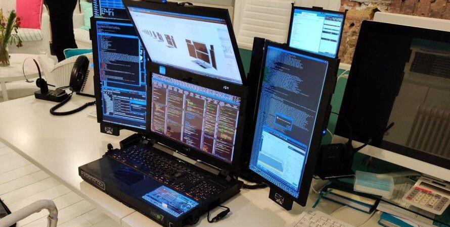 Expanscape, Aurora 7, ноутбук, мониторы,