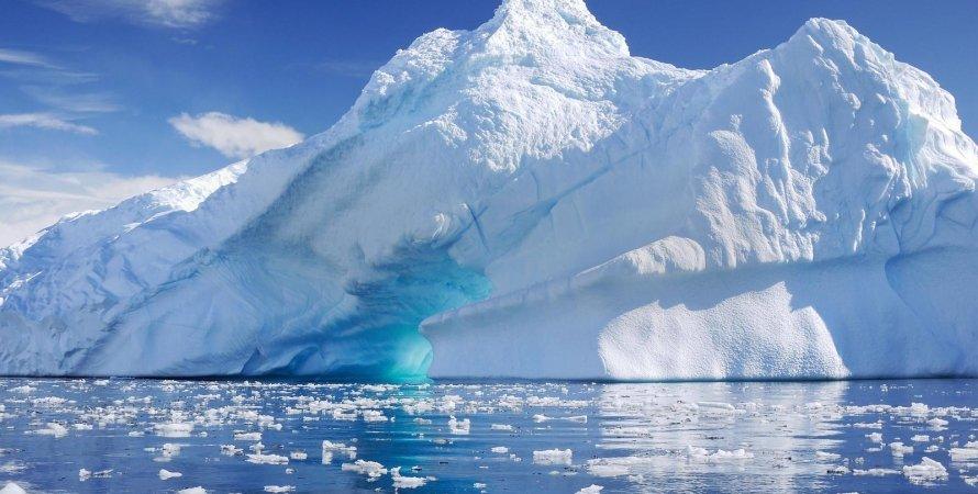 Антарктида, лед, озера, фото