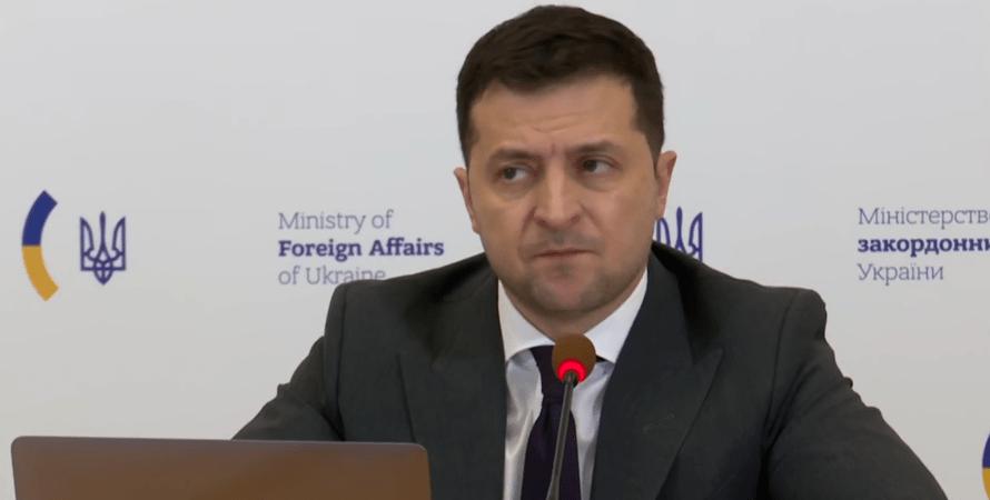 Владимир Зеленский, Крымская платформа, МИД, ЕС, Северная Америка